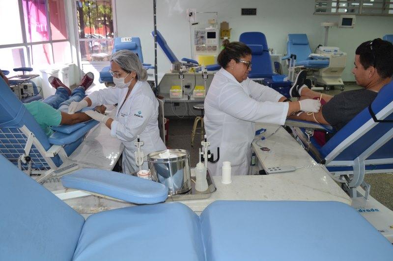 Hemose: Doação de sangue funciona com horários alterados na Semana Santa
